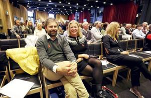 Niclas Sjögren Berg, Skistar, och Karin Stolt Halvarsson, World Cup-bolaget, är förväntansfulla inför framtiden. De hoppas Åre återigen ska stå som värd för ett alpint VM.