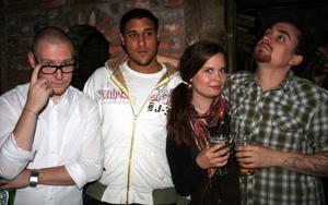 Konrad. Anders, Amin, Barbro och Pontus
