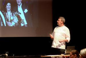 Michael Bäckman höll en föreläsning i Säters Folkets hus på torsdagskvällen som ett led i Folkhälsoinstitutets satsning
