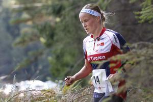 Josefin Tjernlund har tagit jättekliv sedan hon lämnade OK Vilse 87 för OK Tisaren.