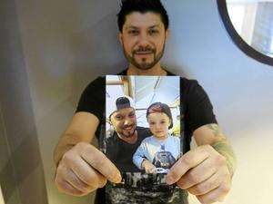 Pierre Orrelanas främsta inspirationskälla är sonen Alexis. Honom filmar Pierre varje dag.