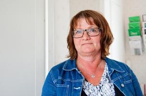Föreningens kassör Lotta Jackobsson hoppas fortfarande på att nå en lösning med den före detta styrelsemedlemmen.