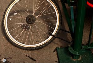 Stulna cyklar hittades i ett källarutrymme, och fler hann det bli mellan polisens besök.