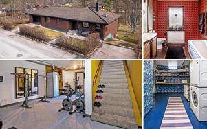 Rymlig villa med 5 sovrum i Varggården i Falun.
