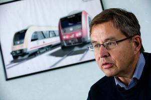 Hugo Oljemark hoppas att nya tåg ska rulla i Dalarna senast till skid-VM i Falun 2015. Tågbolaget planerar att under vintern genomföra en upphandling av nya fordon.
