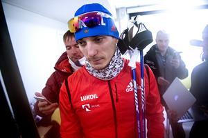 Uppståndelsen kring den ryska segraren Belov var stor efter segern.