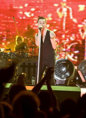 Depeche Mode spelar på Peace & Love torsdagen 27 juni 2013.