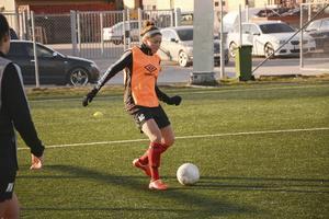 Ashley Clark är ny i Tierp för säsongen och har varit en av deras bästa spelare.
