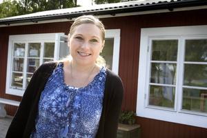 Nu öppnar Jessica Albinsson årets sommarkafé i Saltvik.