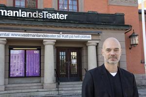Niklas Hjulström, teaterchef Västmanlands teater. Arkivbild.