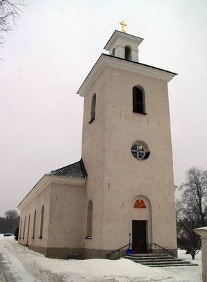 Sundsjö kyrka  i Fjällsta konverteras från direktverkjande elvärme till direktverkande elvärme..Foto: Ingvar Ericsson