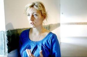 Emma Göransson har arbetat i två år med installationen