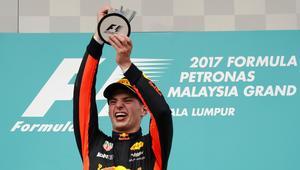 Max Verstappen tog sin första F1-seger i Barcelona förra året, i sitt första race för Red Bull. Andra segern fick 20-åringen vänta nästan 1,5 år på, men på söndagen kom den i Malaysias GP.