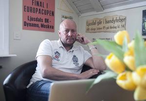 Ola Bengtsson, klubbchef i Ljusdals BK.