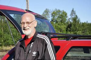 Erland Paulsson är mannen som har total koll på sin hembygd, och som delar med sig av all information.