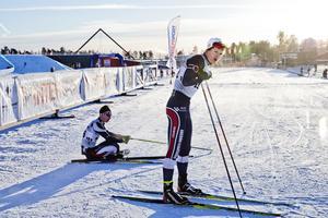 Patrik Karlsson, född 1987 i Örebro, tävlandes för Karlslund och boendes i Garphyttan, fick chansen i nationell grupp i stafetten i världscupavslutnigen i Falun 2007 efter junior-VM-guldet i just stafett, med exakt samma lag (förutom Karlsson också Jesper Modin, Magnus Engström och Adam Johansson), en vecka tidigare.