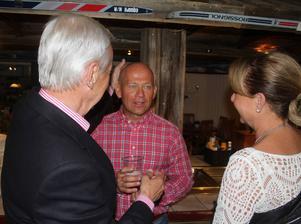 Vasaloppsnack. Janne Ottsson resonerar med Lullen Hoflin och Birgitta Ulfbåge