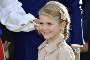 Prinsessan Estelle föddes 23 februari 2012.