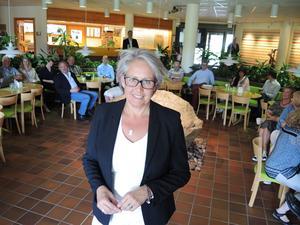 Regionchef Tiina Ohlsson när hon tillträdde i fjol.