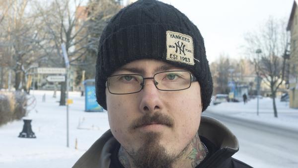 Kenneth Joona, 33 år, däckmontör, Fagersta:– Ja det har vi, förra helgen. Det blir när man känner att man är klar med julen.
