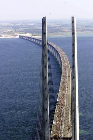 Populär bro. Efter tio år är Öresundsbron oomstridd. FOTO: SCANPIX