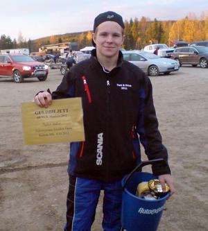 Patrik Svärd vann X-cupen.