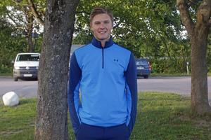 Gustav Lindström från Östervåla är draftad av Detroit Red Wings
