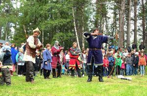 Bågskyttetävlingen.Foto: Elisabet Rydell-Janson