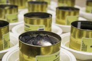Över 250 surströmmingsburkar öppnades under kvällen.