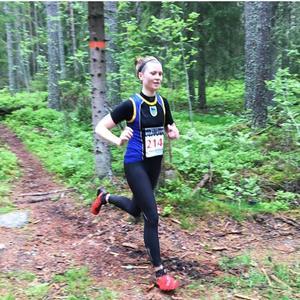 Zara Lundgren segrade i Borgarloppet över 23 kilometer.