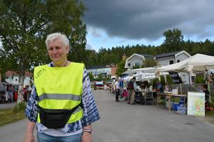 Lotta Evrung är en av de friviliga bakom Lidens marknad.