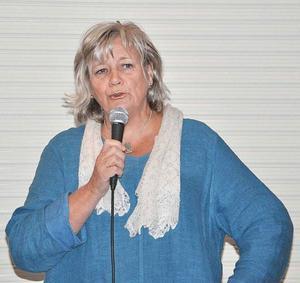 Margareta Winberg berättade om Kvinnokonventionen på PRO Leva Livets möte.