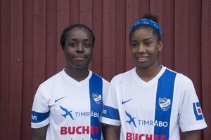 Bupe Olufunmilola Okeowo och Maya Pitts