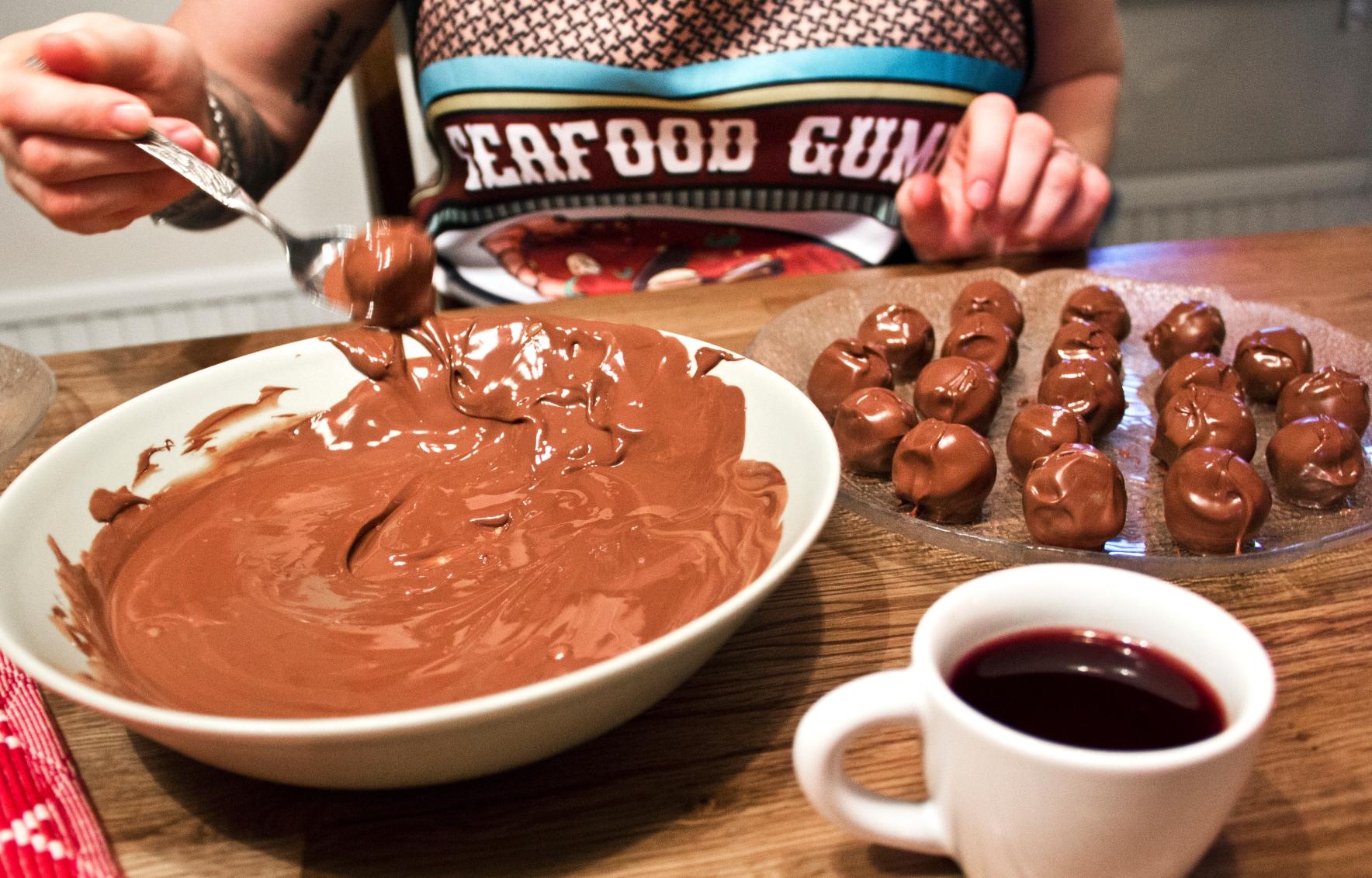 Frossa i choklad 2