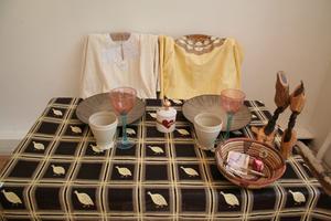 Erika Ogeryd och Maria Grudins bord.