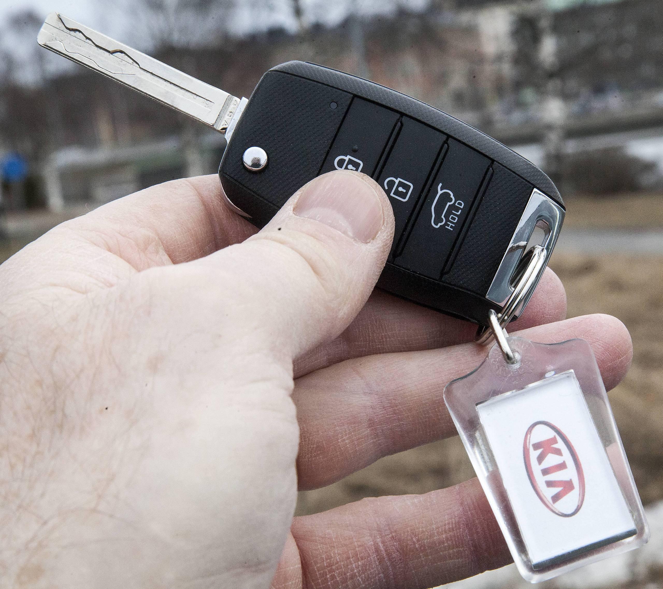 Dyrt att slarva bort bilnyckeln