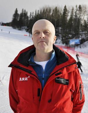 Ju fler som åker desto fler skador.– Man det har inte med trängsel att göra, säger Ludde Lundström på Skistar i Åre.