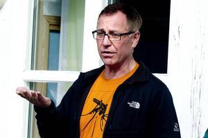 Myggeneralen Jan Lundström är kritisk mot länsstyrelsen.