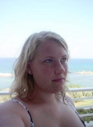 Natalie Funck, ordförande i Ramnäs föräldraförening.