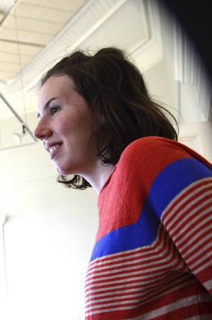 Emelie Markgren är initiativtagare och ledare tillsammans med Pontus Wicksell på kursen.