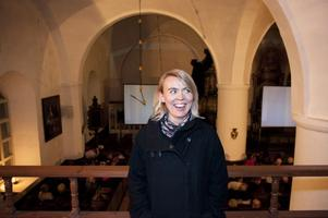 Linnéa Dixgård gladdes åt att 270 personer köpt biljett för att vara med om Mando Diaos digitala
