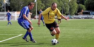 Martin Lindbom gjorde två mål mot Trönö. Arkivfoto: Mikael Stenkvist