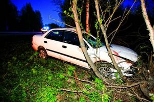 Hackås.En singelolycka inträffade på E45:an i närheten av Hackås. Både kvinna och hennes hund som färdades i bilen klarade sig utan allvarliga skador.– Det gick bra. De fick bara lindrigare skador, säger Maria Könberg, vakthavande polisbefäl.Det var vid midnatt under natten mot fredagen som olyckan inträffade. Kvinnan kommer från Hallsberg och var på genomresa.