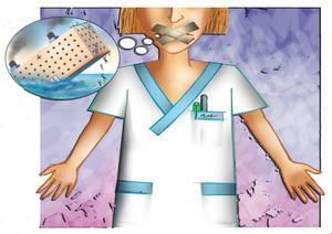 – Man får inte säga det man vill, eftersom det finns en risk att man blir av med sitt jobb, säger en sjuksköterska vid Sundsvalls sjukhus.