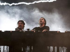 Axwell & Ingrosso under Summerburst på Ullevi i Göteborg.
