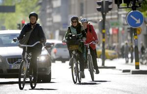 I Gävle finns 2,8 meter cykelväg per kommunmedborgare. Det är betydligt mer än genomsnittet bland de 33 kommuner som Cykelfrämjandet har undersökt.