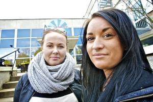 Lisa Ekström och Therese Dahlberg arbetar nu för fullt med onsdagens välgörenhetskonsert på Arena.