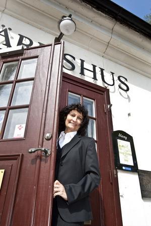 Veronika Kindström driver nu Gysinge värdshus och har tidigare varit ansvarig för Café Krusidull.