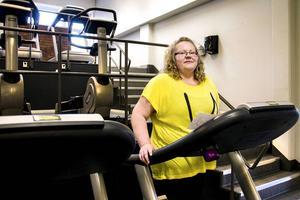 Annica Martin känner sig både piggare och starkare sedan hon startade i Styrkelyftet.