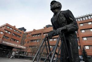 När Socialdemokraterna tar över styret i Sundsvall sker inga dramatiska förändringar av den organisation de själva kritiserat så hårt.